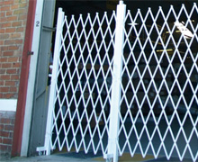 Expandable Barriers Retractable Gates And Retractable
