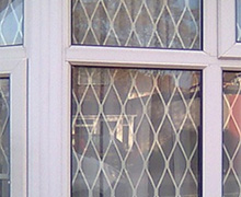 Home window security grille