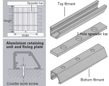 removable window bars measurment and fitting